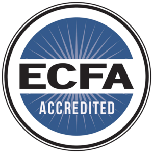 Forgotten Voices - ECFA ( Evangelical Council for Financial Accountability ) Accredited Seal / Badge